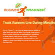 Runner Tracker GPS tracking for marathons and training runs.